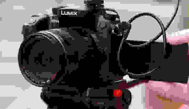 The GH4 is the simpler solution of the two, letting you record 4K video right to SD cards.