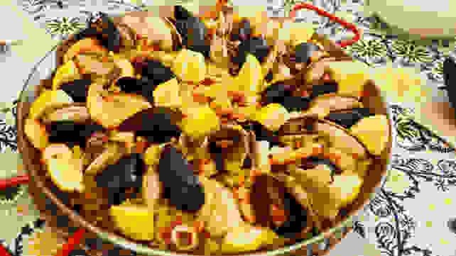 Paella recipe - final product