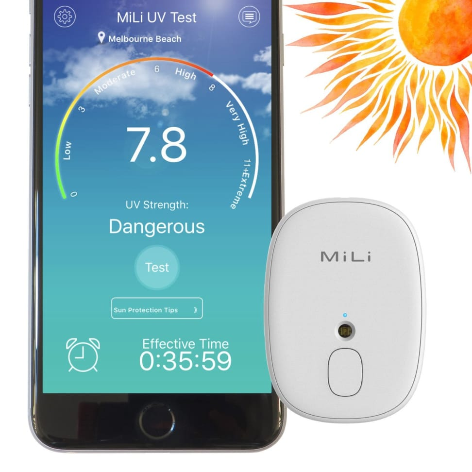 MiLi Skinmate Skin Care Portable Digital UV Tester