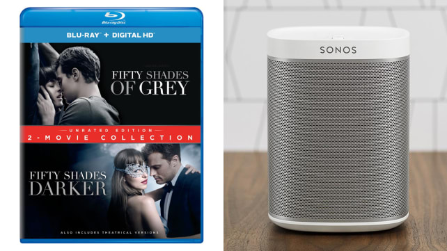 50 Shades Blu-ray and Sonos Play:1