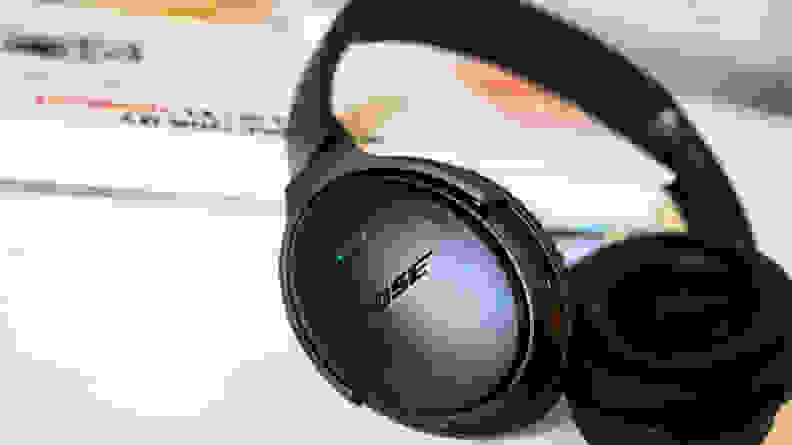Noise cancelling headphones can help reduce distractions.