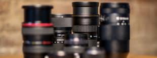 Lenses site launch hero