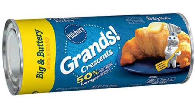 The best Pillsbury rolls big butter crescents