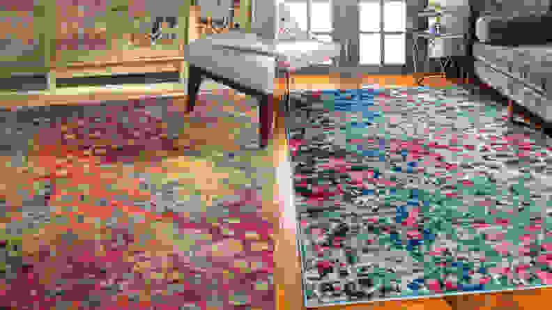 Massaoud Multi-colored Area Rug