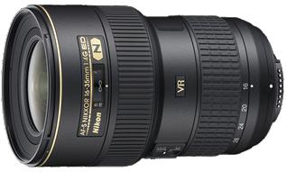 Product Image - Nikon AF-S Nikkor 16-35mm f/4G ED VR
