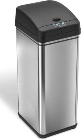 Itouchless 13 Gallon Deodorizer Sensor Trash Can