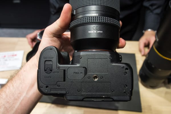 The bottom of the Pentax K-1