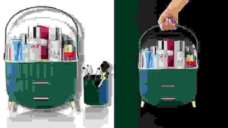 The Kosa Upscale Makeup Bag Organizer.