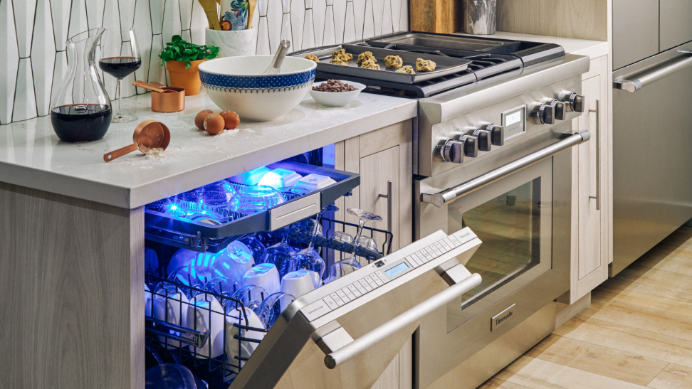 A Star Sapphire dishwasher from Thermador