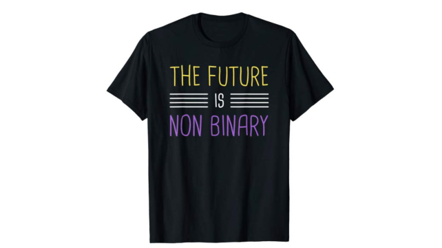 Non-Binary Tees Non-Binary T-Shirt