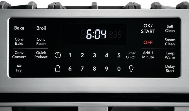 Frigidaire_FGGH3047VF_control panel