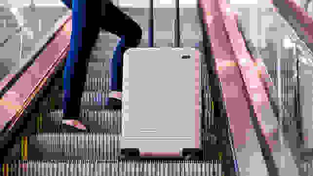 How Away travels on escalator
