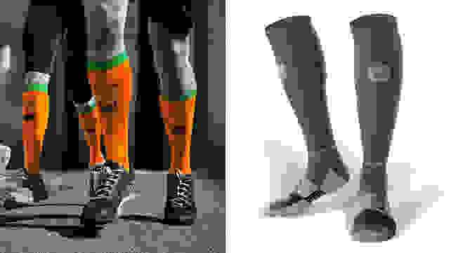 Compression socks from Gone For a Run and MudGear