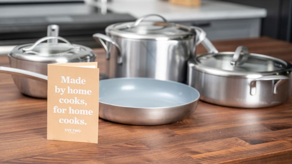 Food52 recently released their own line of cookware, Five Two.