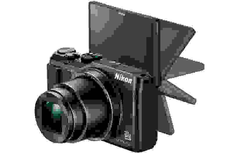 A manufacturer render of the Nikon Coolpix A90.