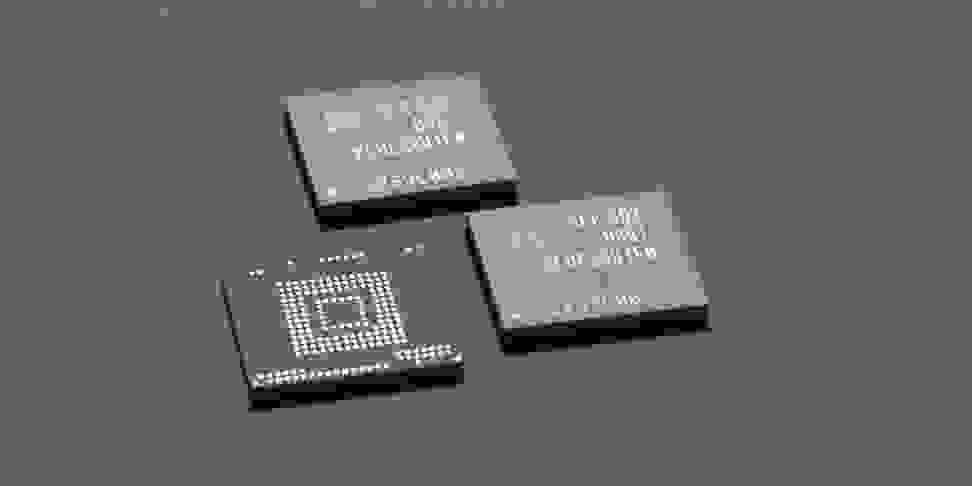 Samsung's new 256-gigabyte smartphone memory chips