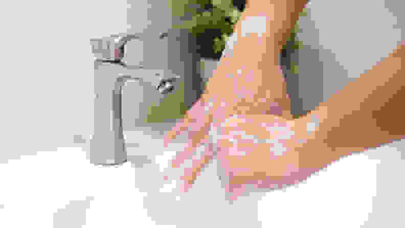 Coronavirus COVID-19 handwashing