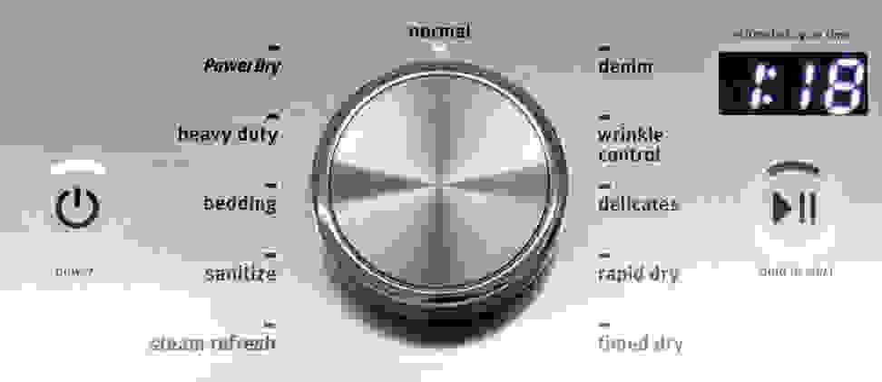 Maytag Bravos MEDB855DW Cycles