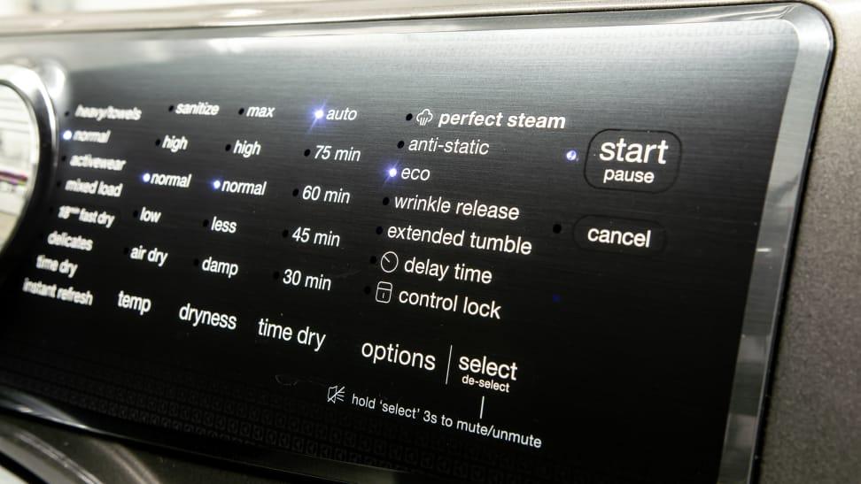 Electrolux-EFME527UTT-control-panel