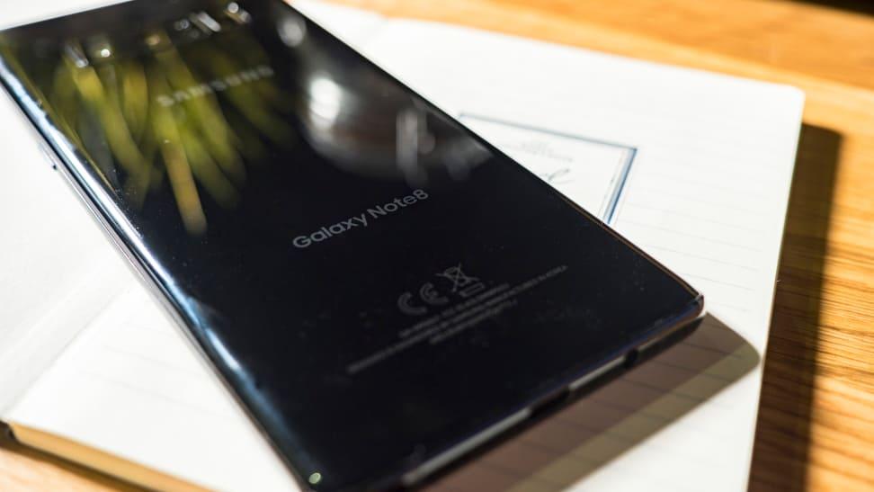 Samsung Galaxy Note 8 Back