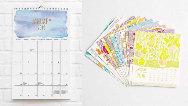 Paper Source calendars