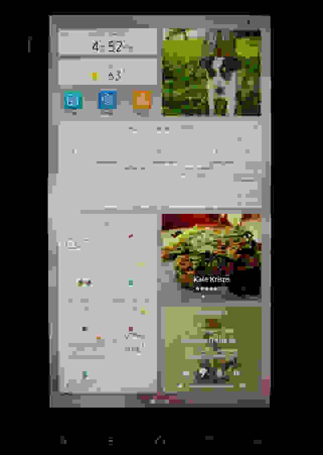 Samsung Family Hub 2.0 Screen