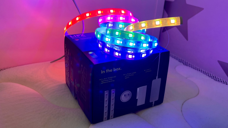 The LIFX Lightstrip with Color Zones is the best smart strip light you can buy.