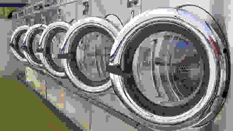 Coronavirus COVID-19 laundry facility
