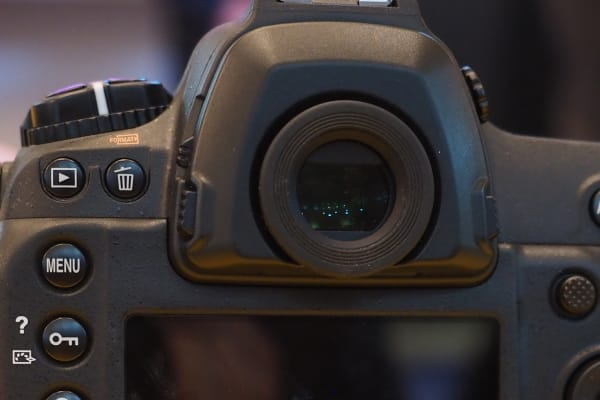 The D5's viewfinder is beautiful, with 100% coverage of the full frame image area.