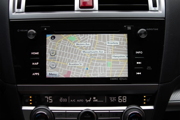 2015 Subaru Outback navigation