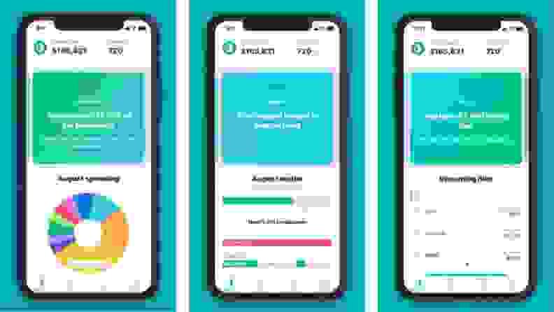 Mint app screenshots