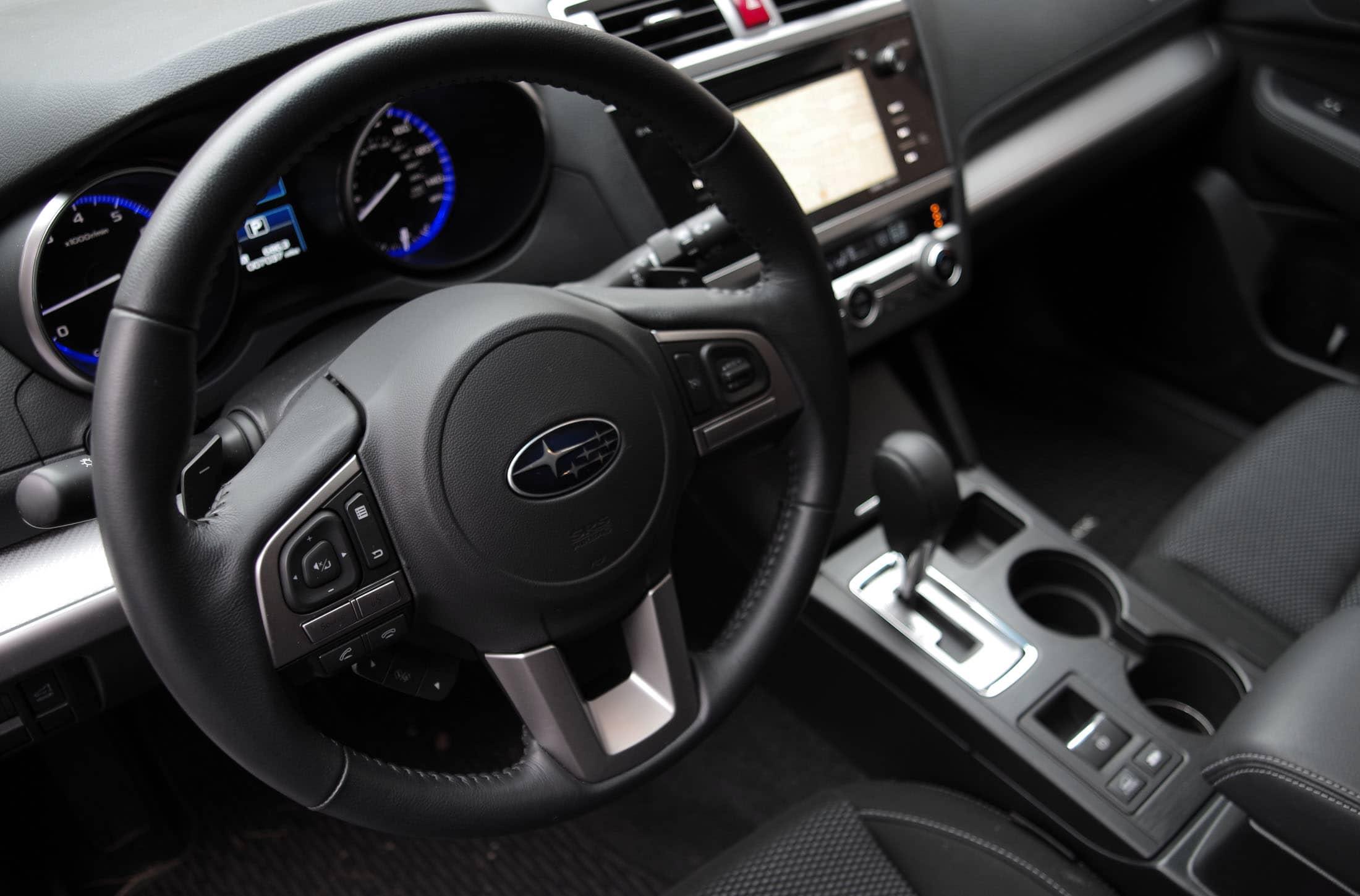 2015 Subaru Outback driver's view