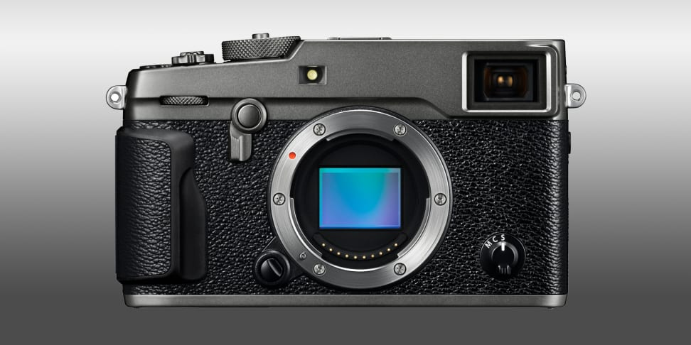 Fujifilm's X-Pro2 in its new silver color