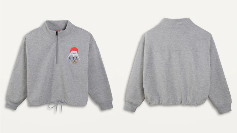 Old Navy Olympics pullover sweatshirt