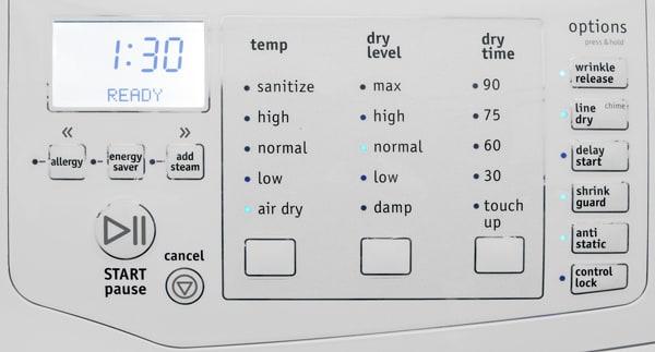 Frigidaire-FASE7074NW-controls.jpg