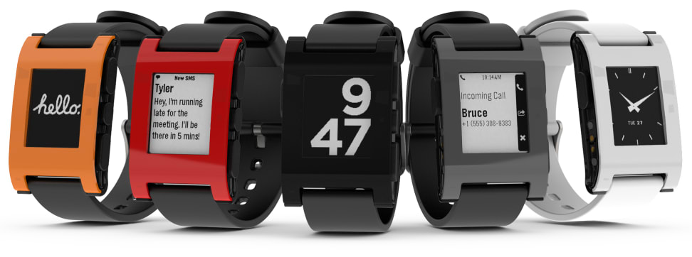 Pebble sold 400,000 smartwatches in 2013.