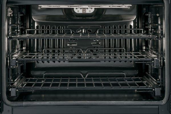 Oven capacity is huge at 5 cubic feet.