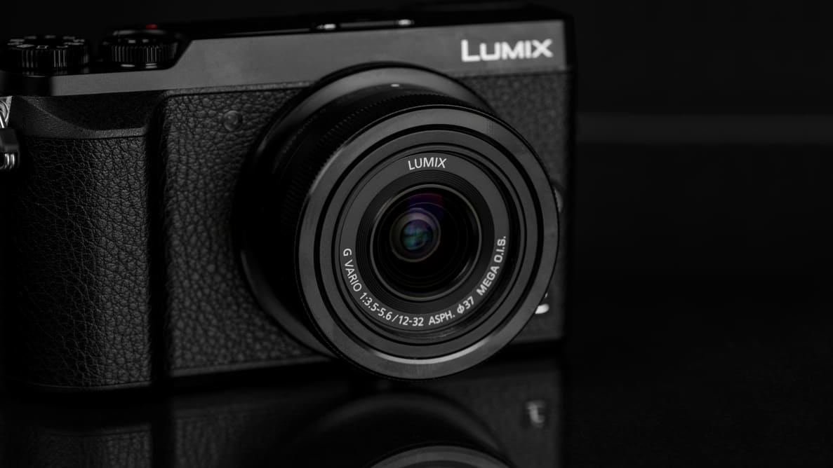 A photo of the Panasonic Lumix GX85.