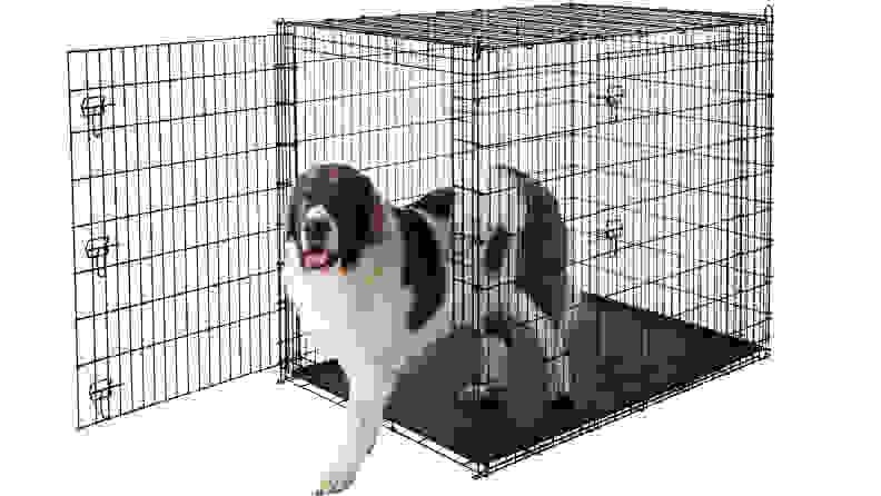 Frisco XX-Large Heavy Duty Double Door Dog Crate