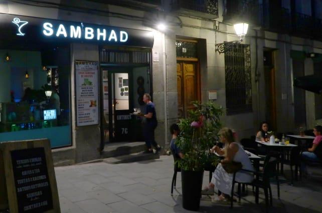 Sambhad exterior