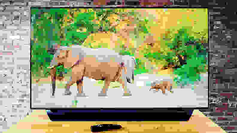 55-inch LG C8 OLED TV