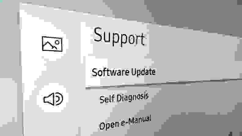 Samsung TV Support Software