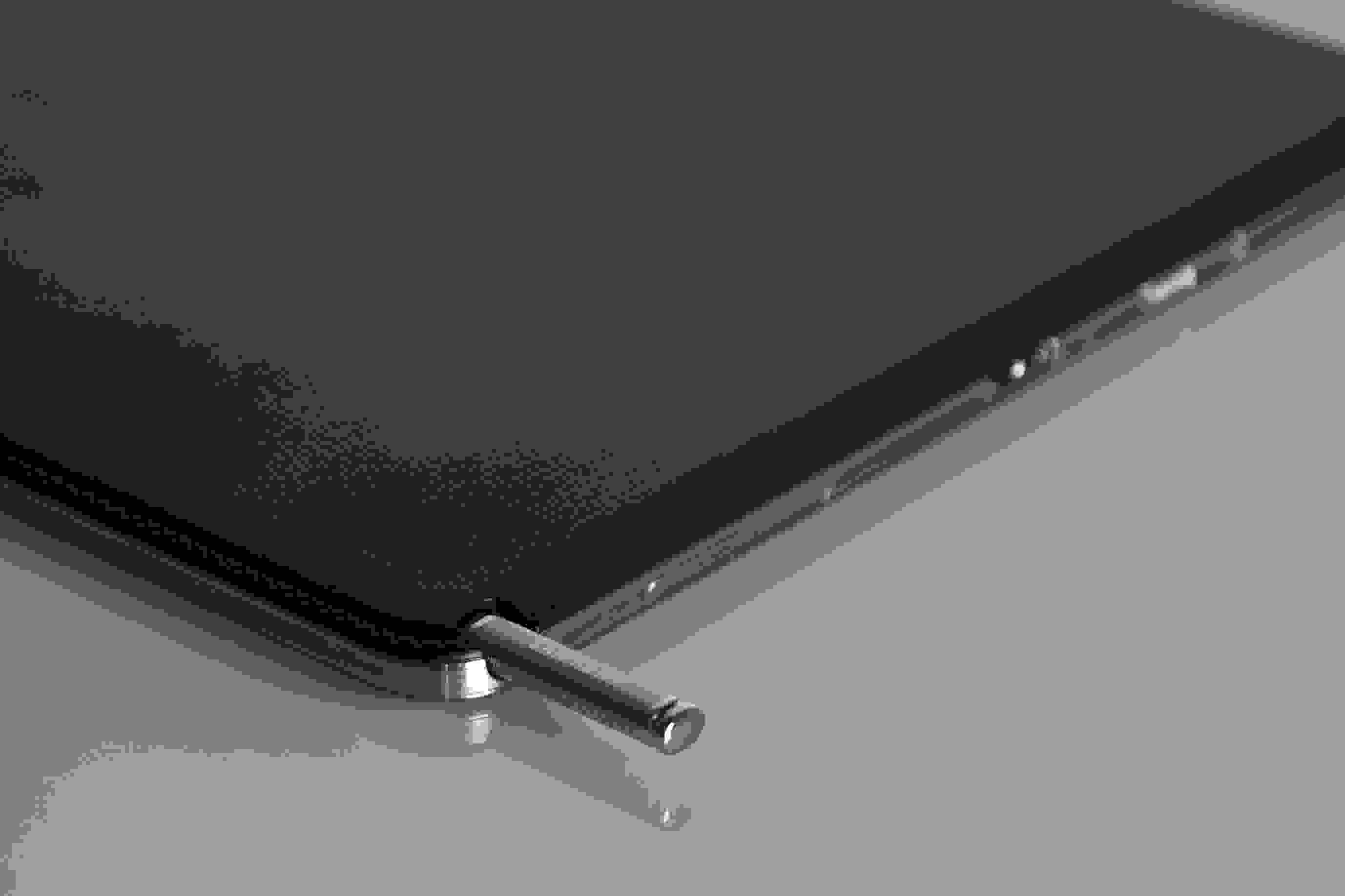 """A close-up of the S-pen of the Samsung Galaxy Note Pro 12.2""""."""