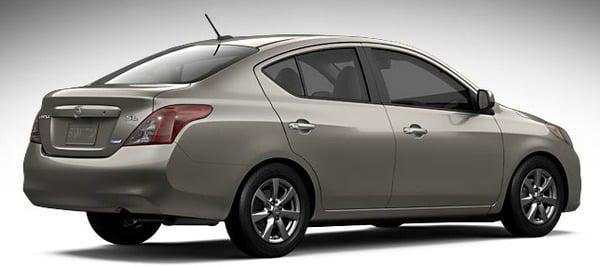 Product Image - 2012 Nissan Versa Sedan 1.6 S