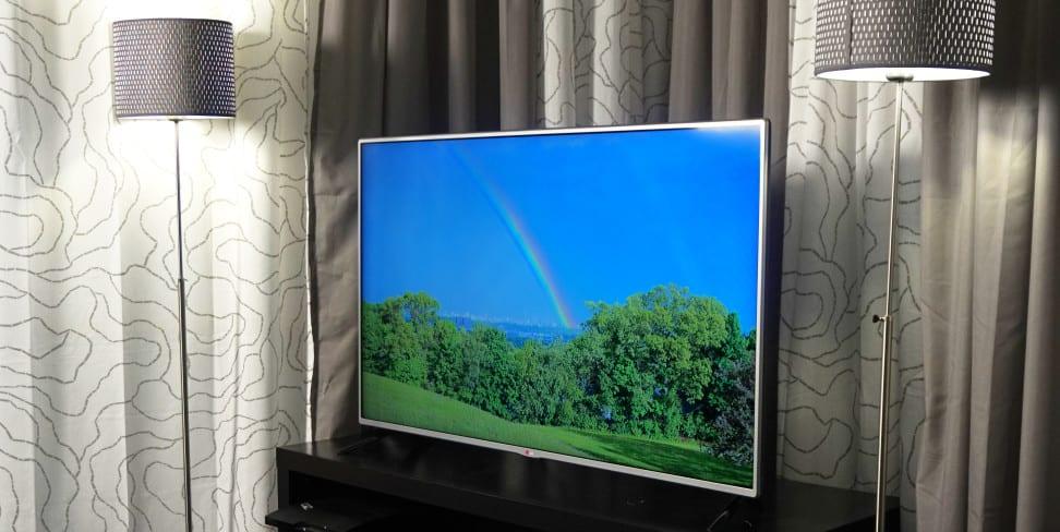 An LG HDTV