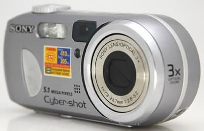 Product Image - Sony Cyber-Shot DSC-P93