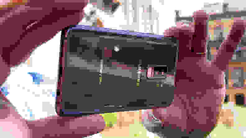 Samsung Galaxy S9+ Camera In Use