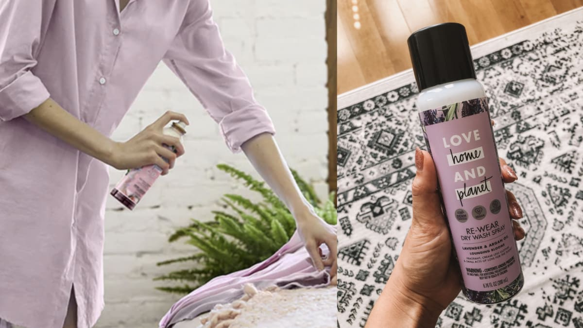 I tried dry shampoo for my clothes—here's what happened