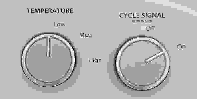 Whirlpool WED4815EW Controls