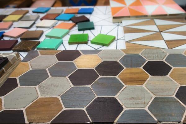 Indoteak Design Wood Tiling